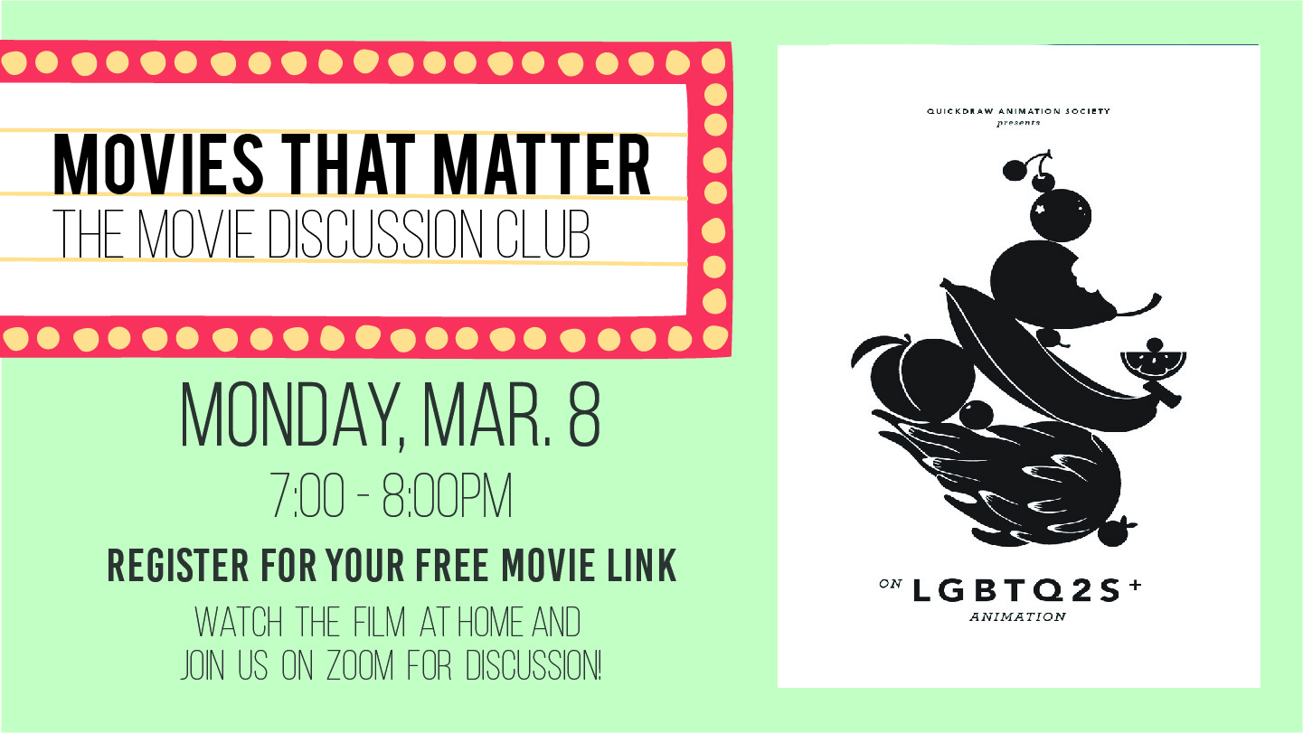 Movies That Matter On LGBTQ2S+ Animation