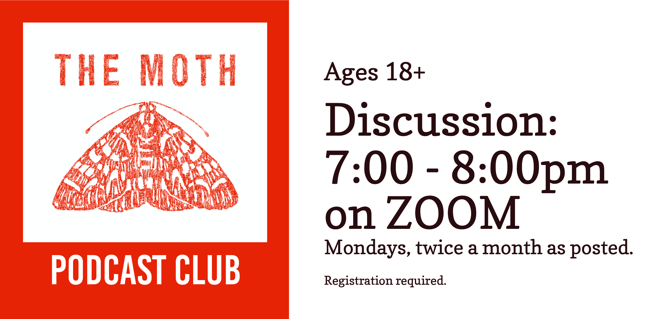 The Moth Podcast Club