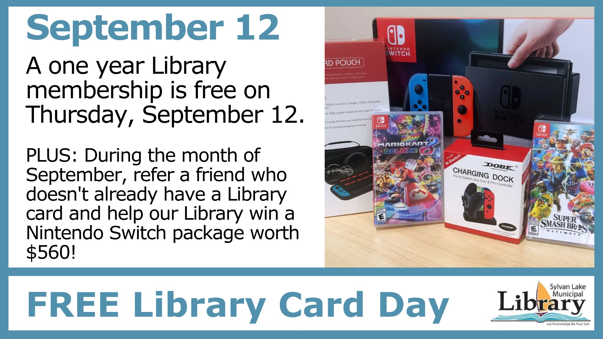 Free Library Card Day